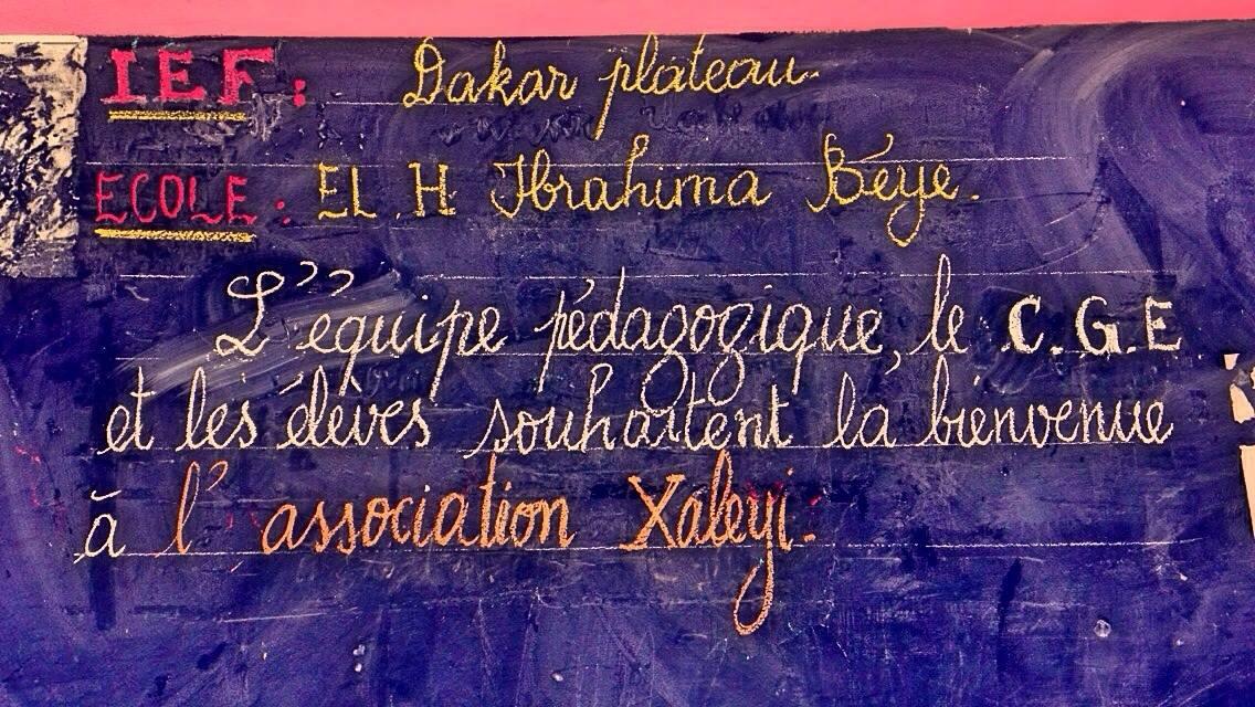 Réfection des tableaux 2016 (Dakar)