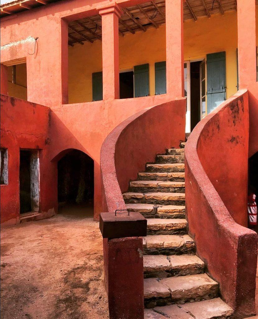 Sortie scolaire sur l'île de Gorée